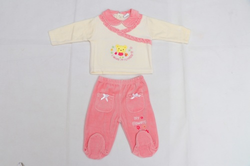 Baby clothes feet