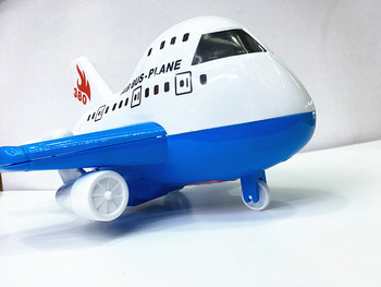Infant children 's educational toys wholesale inertia aircraft model large aircraft