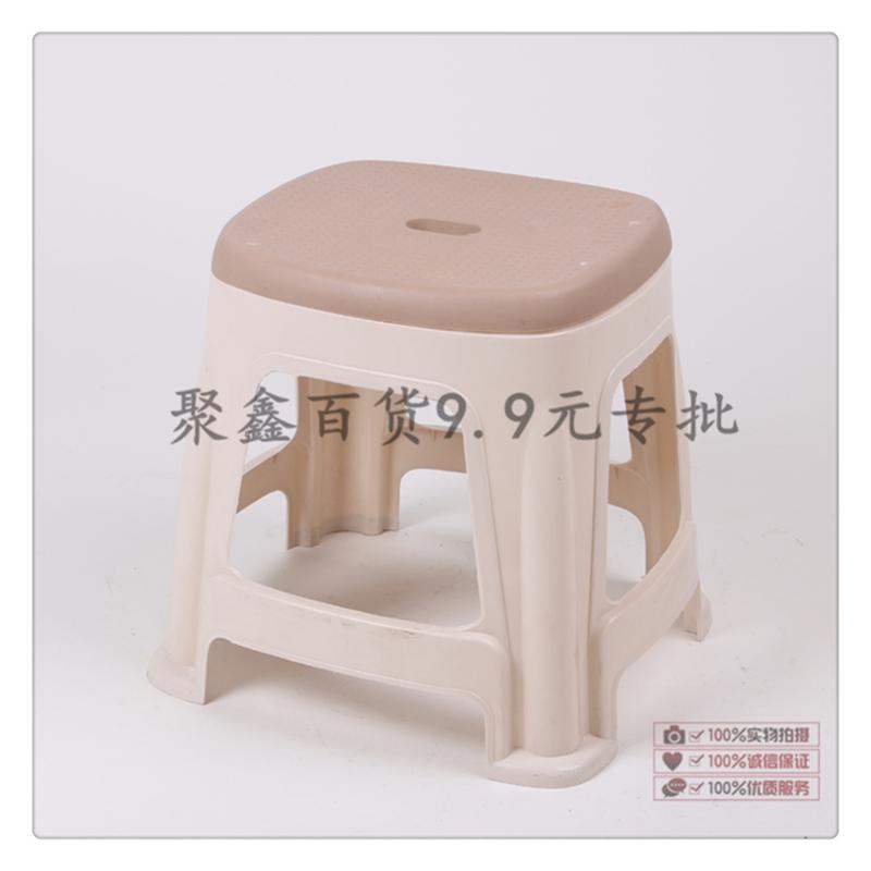 双色家用餐桌凳子 欧式简约防滑换鞋凳