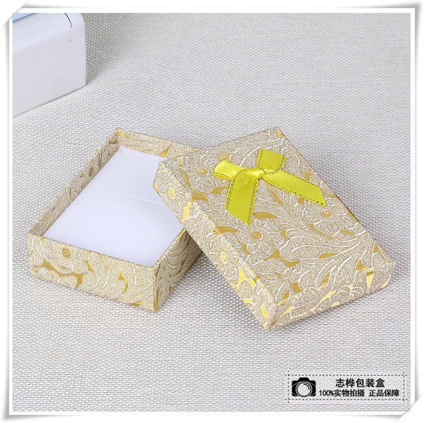 珠宝首饰礼品包装盒子求婚钻戒手镯吊坠项链盒