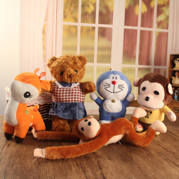 10 Yuan Store supply Funny plush toys animal toy fawn Penguin Color Doll