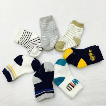 Foreign trade full hair pants children socks warm socks floor socks