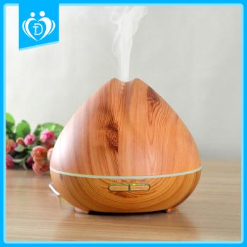 木紋香薰加濕器 超聲波七彩香薰機 加濕器