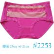 Modal antibacterial large version of Ms. large size underwear women in the waist lace lace pants