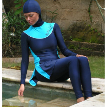 The new Muslim swimsuit in the Middle East to keep swimsuit swimsuit swimwear factory direct