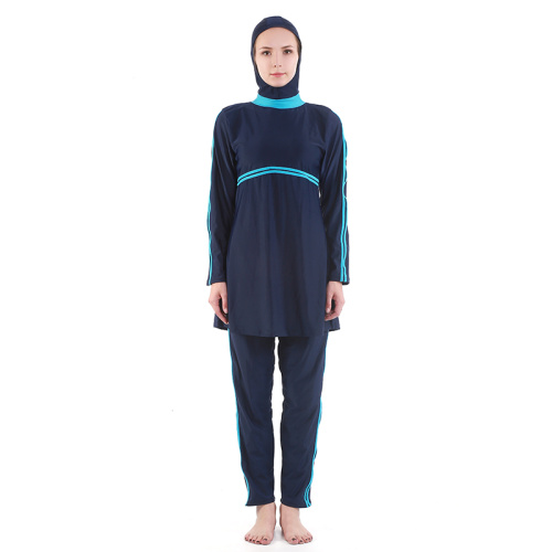 The new Hui swimsuit covered conservative Islamic swimsuit Muslim swimsuit