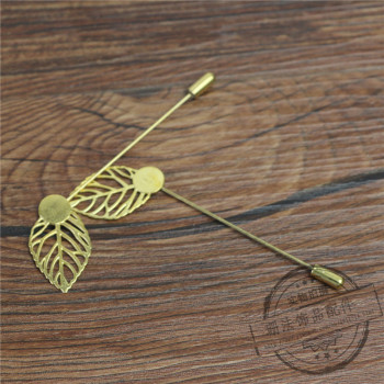 With the word needle brooch needle male and female suit Xionghua pin brooch jewelry accessories