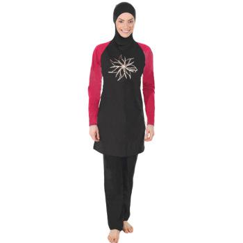 Explosive Muslim swimsuit lady swimsuit Islamic woman beach swimwear