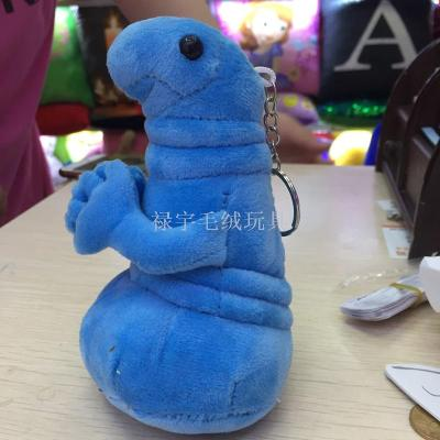Plush toys Russian foreign trade explosion waiting for alien monster zhdun doll particles pendant