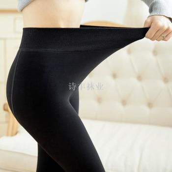 Thickening leggings black cotton watermelon crotch pants thick thick pants