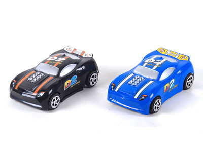 Children 's educational toys wholesale back to the police model card carts stickers 13CM