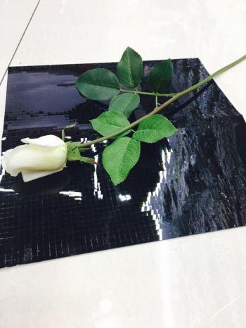 Crafts Vase Accessories Crafts Glass Vase Accessories 5 * 5 Flat Square Mirror