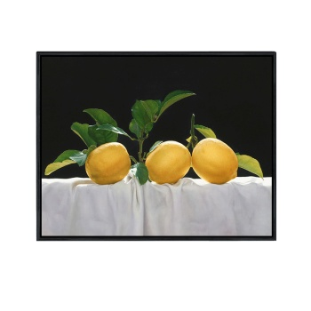 Jane Europe Gua painted lemon decorative painting restaurant hotel wall painting hand painted oil painting