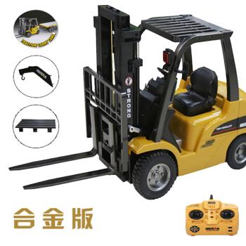明坤玩具 大号儿童 叉车 工程车电动汽车 遥控玩具