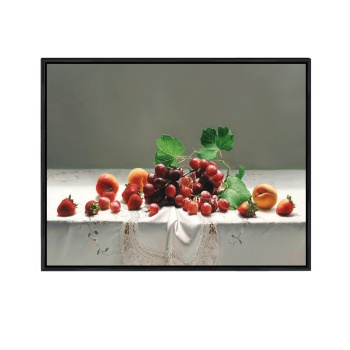 Simple hotel-style painting European-style still life decoration painting restaurant grape peach wall painting
