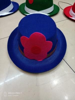 Small non-woven fashion hat