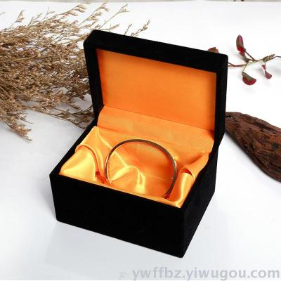 Flannel Jewelry Box Chain Bracelet Bracelet Pendant Fashion Jewelry Packaging Gift Ornament Box Rings Boxes Boxes