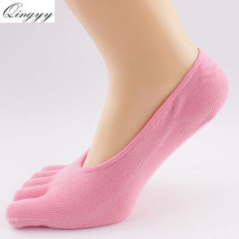 Cotton Fall Women's Finger's Socks Sports Cotton Fingers Toe Hosiery Yoga Socks