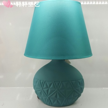 The new color crafts table lamp home decoration Decoration ceramic table lamp soft ornaments