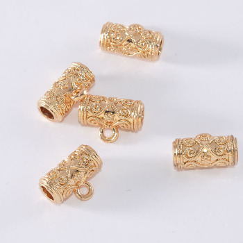 24K package Jinxiang cloud elbow diameter 6mm sweater chain / bracelet accessories do not fade allergy