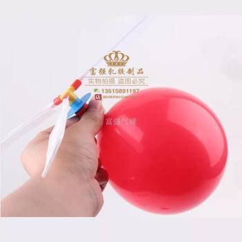 Factory direct balloon aircraft creative DIY balloon aircraft