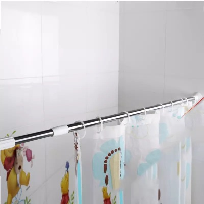 Supply Retractable shower curtain without special thickening thickening-