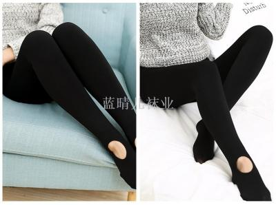 300 grams of high-density nylon pantyhose lazy socks