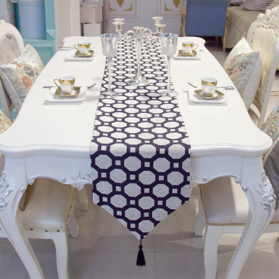 Contracted table flag high-end modern rural TV cabinet tablecloth tea, green customization.