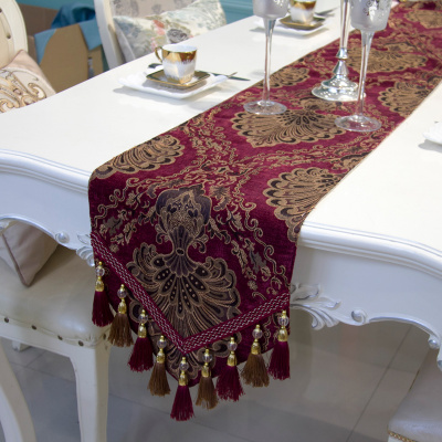 Chinese style national wind table flag table cloth table cloth bed flag table cloth European cloth art customization.