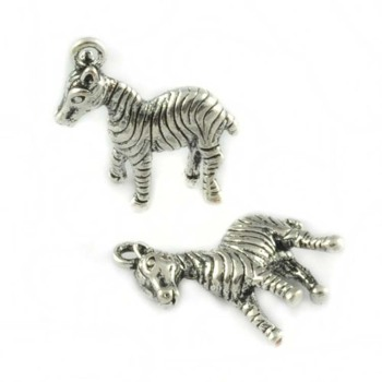 Phone chain pendant bracelet necklace jewelry accessories 【wholesale made】 18 * 17mm zebra shape copper pendant