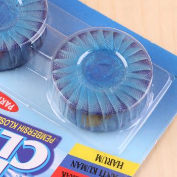 厂家直销 新款蓝泡泡 洁厕灵马桶清洁剂有膜2个装