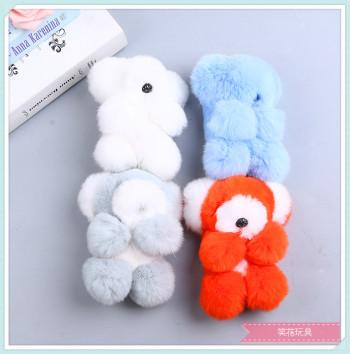 Creative plush toys really MAO toy figurines Wo bear plush dolls