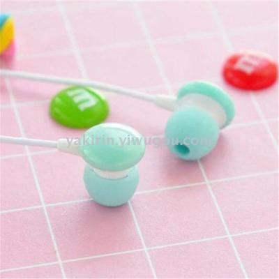 Factory direct sales Yakin in the ear fashion candy original YQL-101 create a chocolate couple small headphones