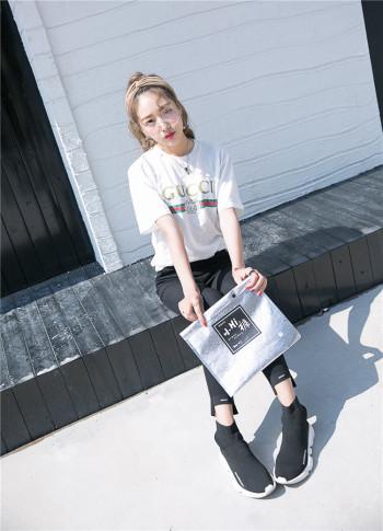 Popular little black pants female autumn thin section underwear wearing black pencil nine small small pants