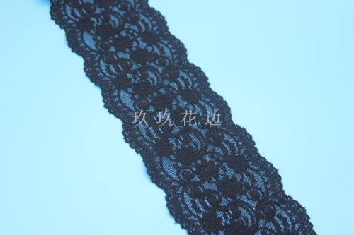 E9021 elastic explosions boat socks 10 cm lace and old lace