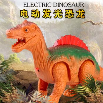 Simulation Electric Luminous Dinosaur Toys Children Plastic Model Animal Toys Wholesale