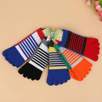 2017 new mesh toe socks cotton toe socks yin and Yang LK1250