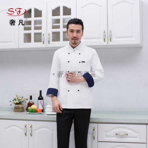 Hotel chef suits uniforms made of Chinese-style chefs