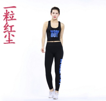 Yoga clothes summer was thin running fitness fitness clothing two-piece suit Slim sportswear suit wholesale