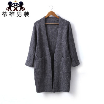 Autumn jacket men and women Korean version of the long paragraph in the long section of wool sweater