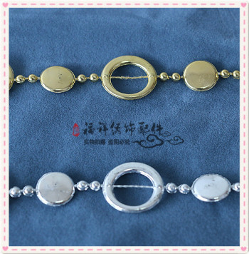 Round chain of jewelry accessories accessories clothing accessories