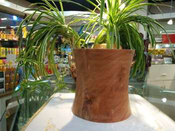 The United States imported pear wood pencil vase home decoration crafts