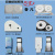 Large roll of tissue box wall mounted Towel rack for the market public toilet roll paper
