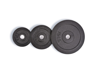 HJ-00116 small holes painted barbell