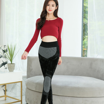 Ladies warm pants leggings one of Graphene in autumn and winter tights