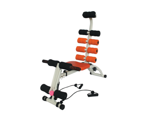 Hj-10007 reclining machine supine board multi-function dumbbell bench training fitness chair abs fitness equipment.