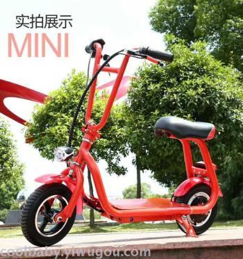 2017 new children's adult mini Harley electric bike folding easy