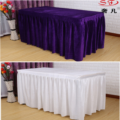 Order tablecloths cloth table skirt Office Hotel wedding table cloths