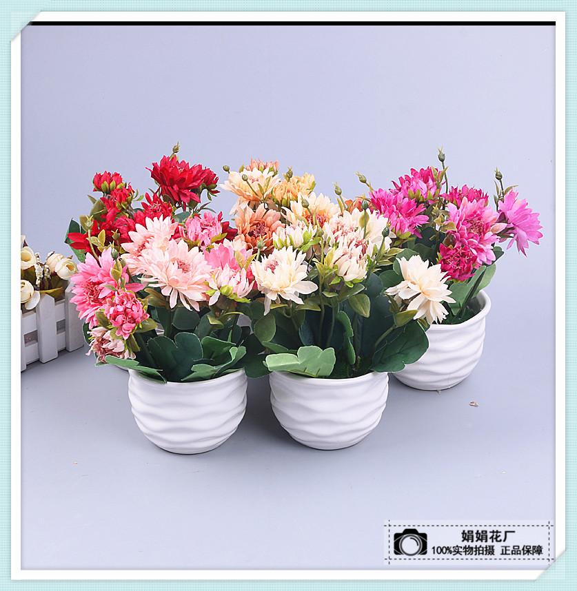 仿真花玫瑰花欧式假花仿真花家居客厅餐桌摆件装饰花艺