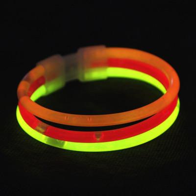 Cheer concert light triple Bangle props light stick three sticks glow bracelets customization
